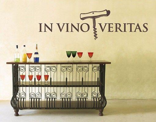 Adesivo murale no.SF284 In Vino Veritas 2