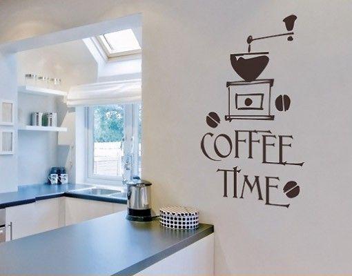 Adesivo murale no.SF318 coffee time 5