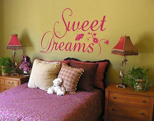 Adesivo murale no.214 Sweet Dreams