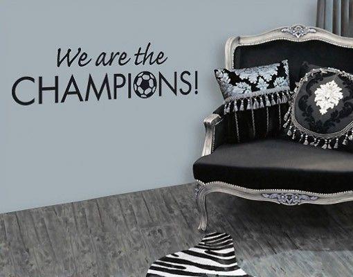 Adesivo murale no.SF296 Champions