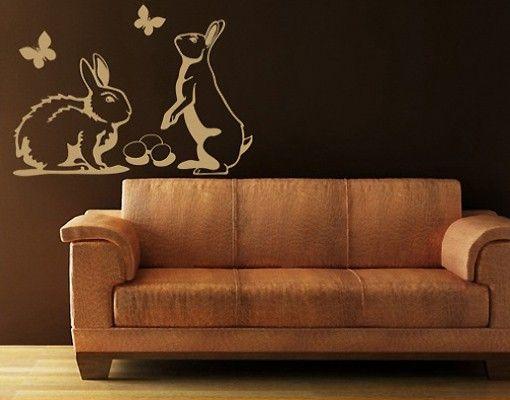 Adesivo murale no.196 easter bunnies