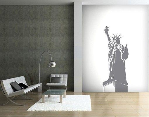 Adesivo murale no.SF406 the Statue of Liberty
