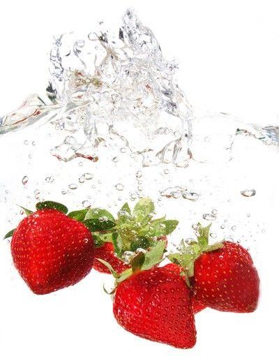 Decorazione per finestre Strawberry Water