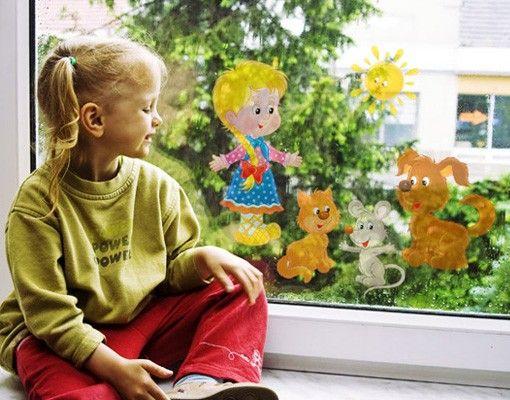 Adesivi da finestra no.24 Good Morning