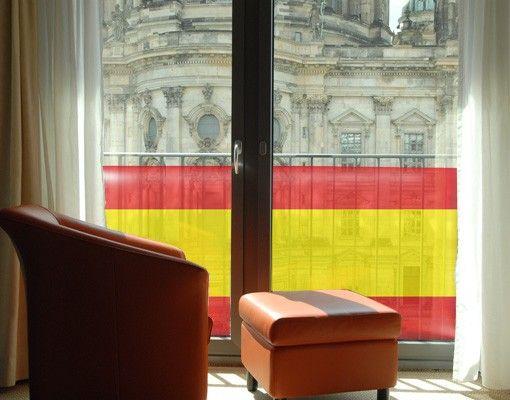 Decorazione per finestre Spanish Flag