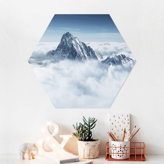 Esagono in forex - Le Alpi Sopra Le Nubi