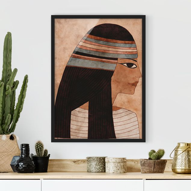 Poster con cornice - Cleopatra - Verticale 4:3