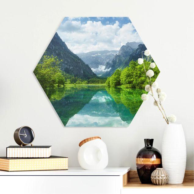 Esagono in forex - Mountain Lake con mirroring