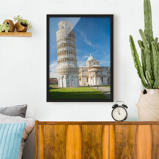 Poster con cornice - The Leaning Tower Of Pisa - Verticale 4:3