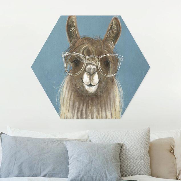 Esagono in forex - Lama con i vetri III