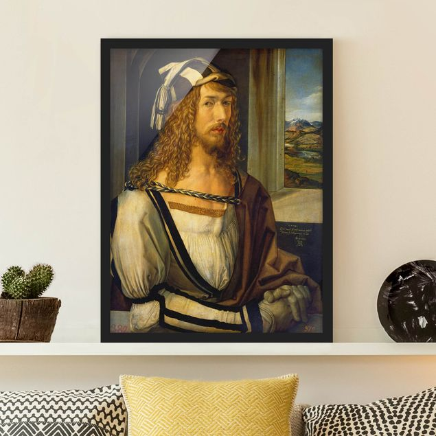 Poster con cornice - Albrecht Dürer - Self-Portrait At 26 - Verticale 4:3