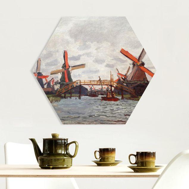 Esagono in forex - Claude Monet - Mulini a vento Zaandam