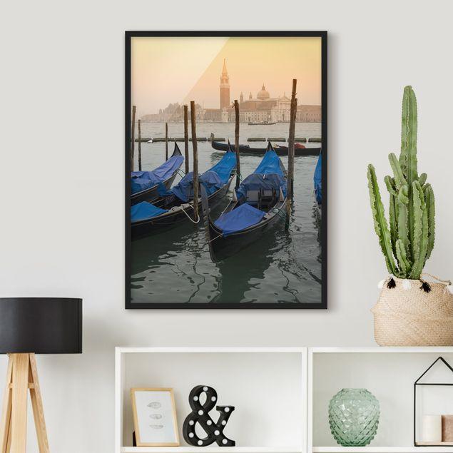 Poster con cornice - Venice Dreams - Verticale 4:3