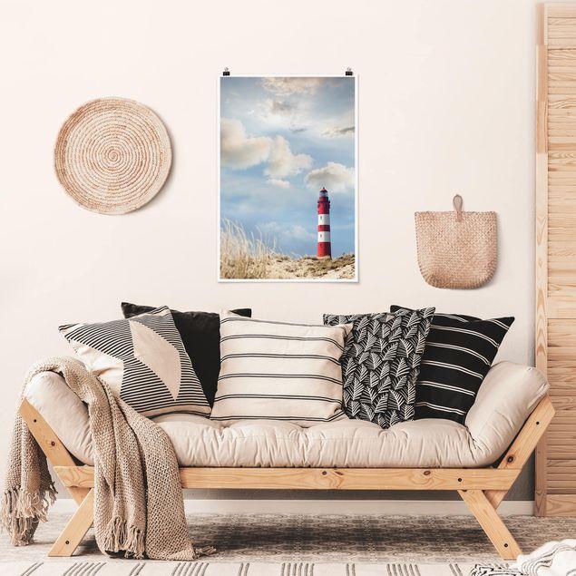 Poster - Faro Nelle Dune - Verticale 3:2
