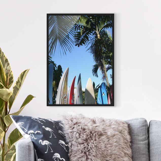 Poster con cornice - Surfers Paradise - Verticale 4:3