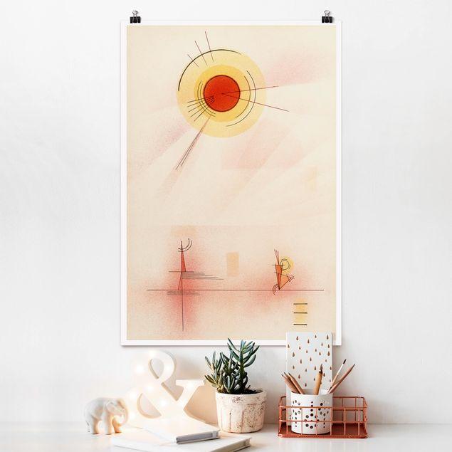 Poster - Wassily Kandinsky - Radiazione - Verticale 3:2