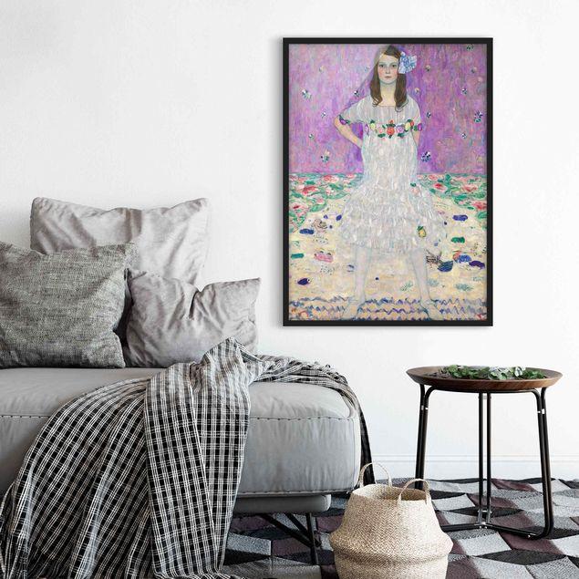 Poster con cornice - Gustav Klimt - Mäda Primavesi - Verticale 4:3