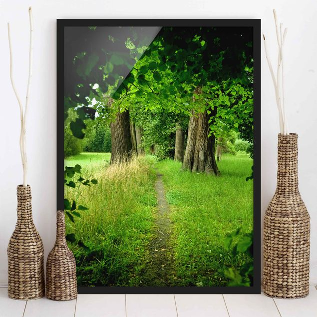 Poster con cornice - Hidden Glade - Verticale 4:3