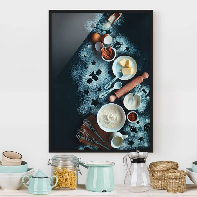 Poster con cornice - Baking For Stargazers - Verticale 4:3