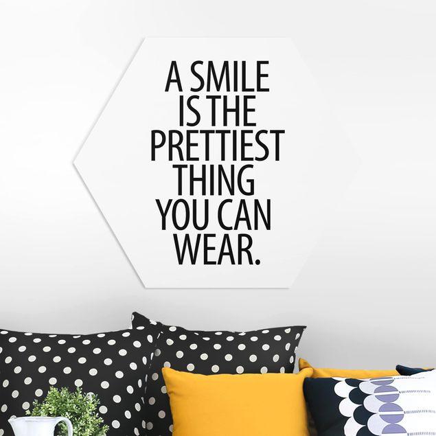 Esagono in forex - Un sorriso è la più bella cosa Sans Serif