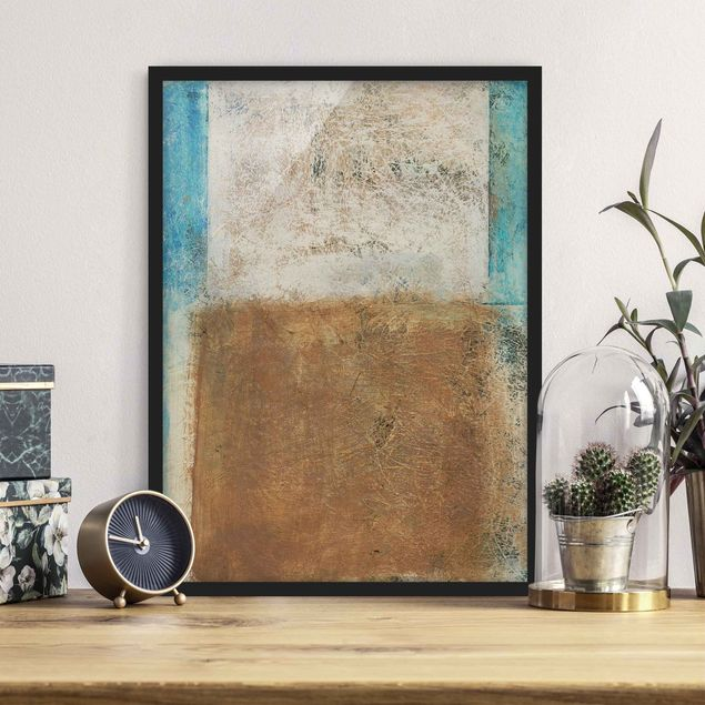 Poster con cornice - Elements Of Life - Verticale 4:3