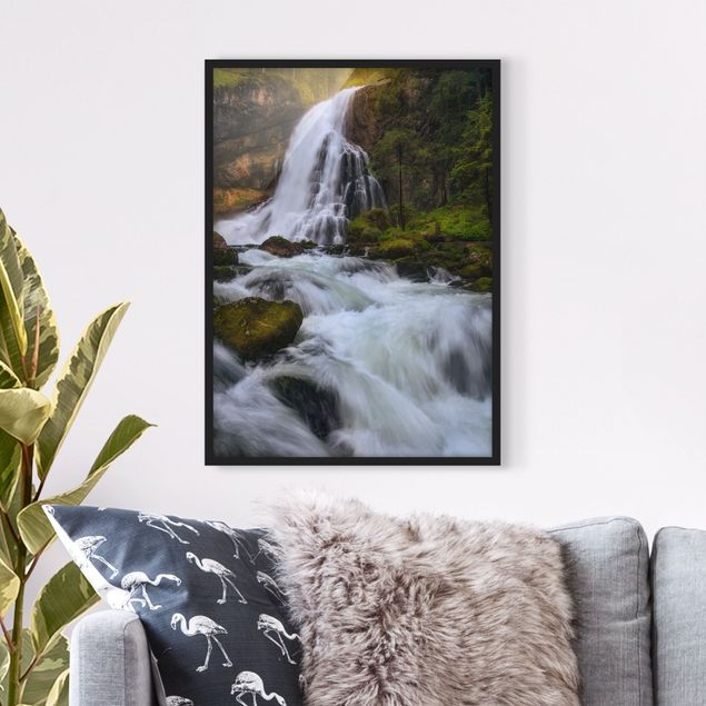 Poster con cornice - Spring Flood - Verticale 4:3