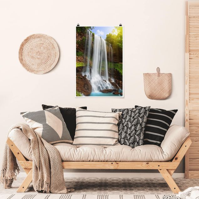 Poster - cascate - Verticale 3:2