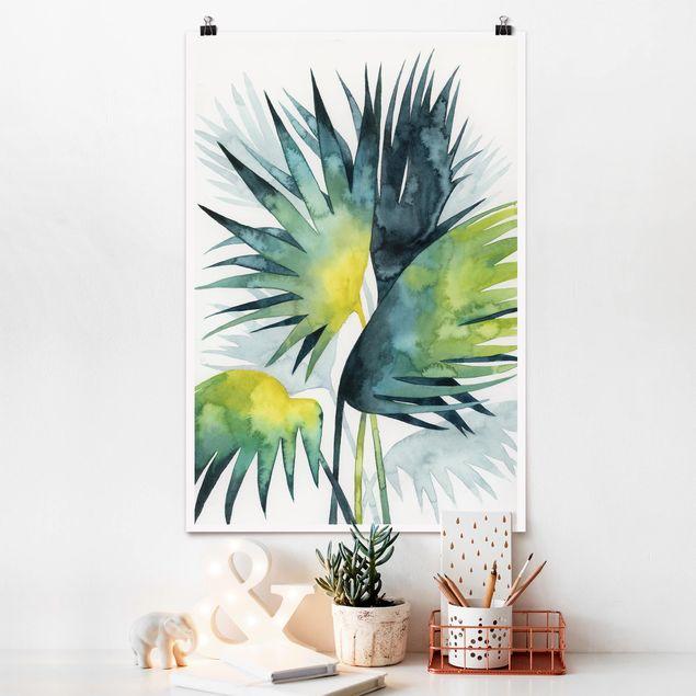 Poster - Vegetazione tropicale - Palma - Verticale 3:2