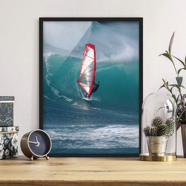 Poster con cornice - The Surfer - Verticale 4:3