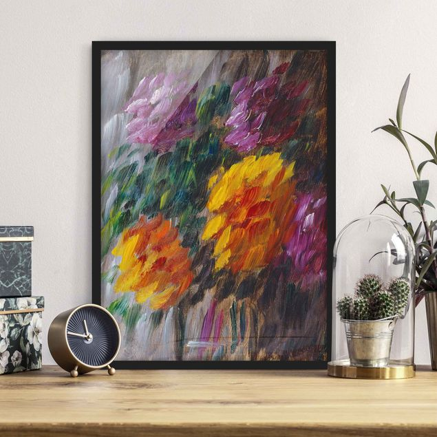 Poster con cornice - Alexej Von Jawlensky - Chrysanthemums In The Storm - Verticale 4:3