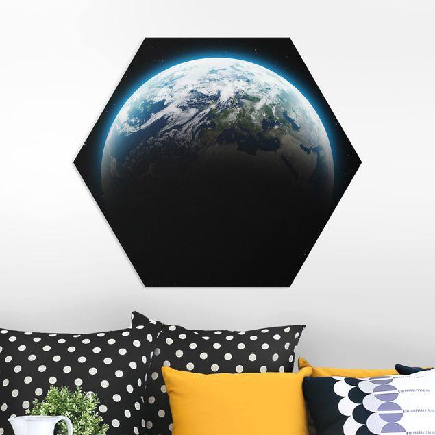 Esagono in forex - Illuminato Pianeta Terra
