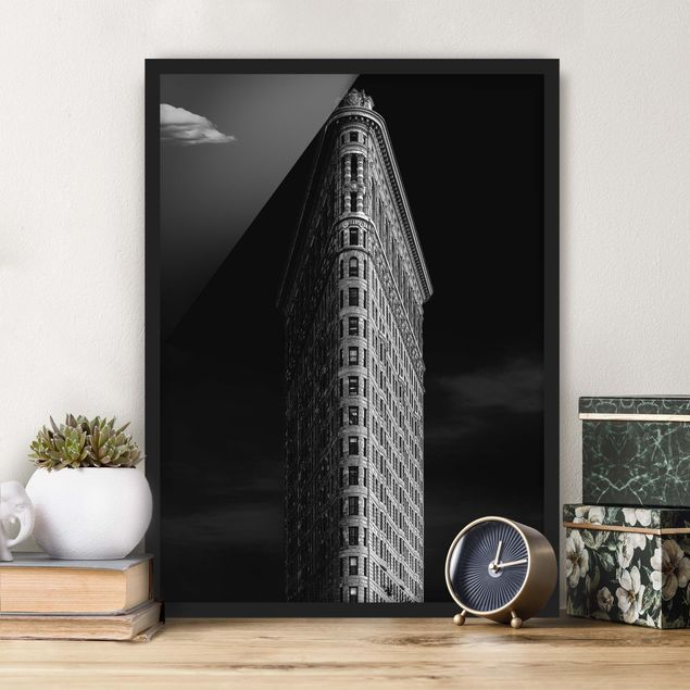 Poster con cornice - Flatiron Building - Verticale 4:3