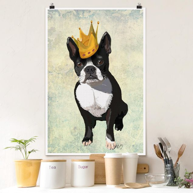 Poster - Ritratto Animal - Terrier Re - Verticale 3:2