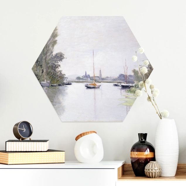 Esagono in Alu-dibond - Claude Monet - Argenteuil