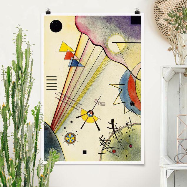 Poster - Wassily Kandinsky - Collegamento Significativo - Verticale 3:2