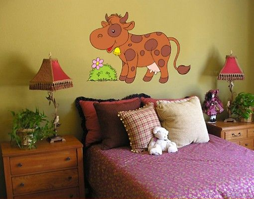 Adesivo murale no.187 Moo Cow