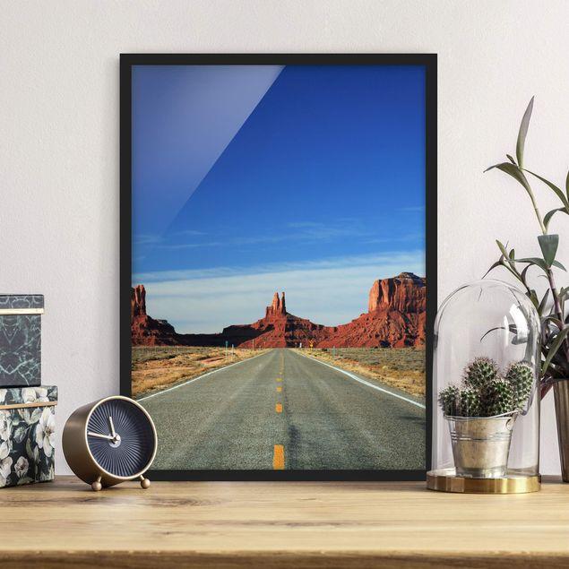 Poster con cornice - Colorado Plateau - Verticale 4:3