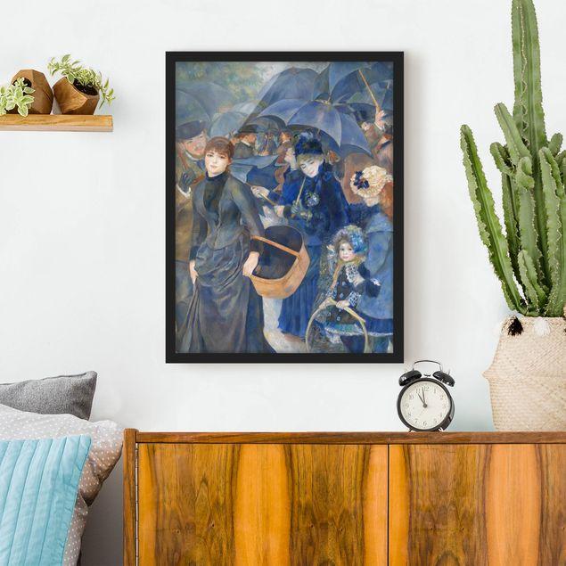 Poster con cornice - Auguste Renoir - Umbrellas - Verticale 4:3
