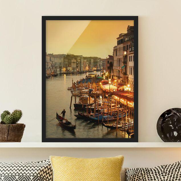 Poster con cornice - Grand Canal Of Venice - Verticale 4:3
