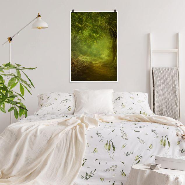 Poster - Passeggiata nel bosco - Verticale 3:2