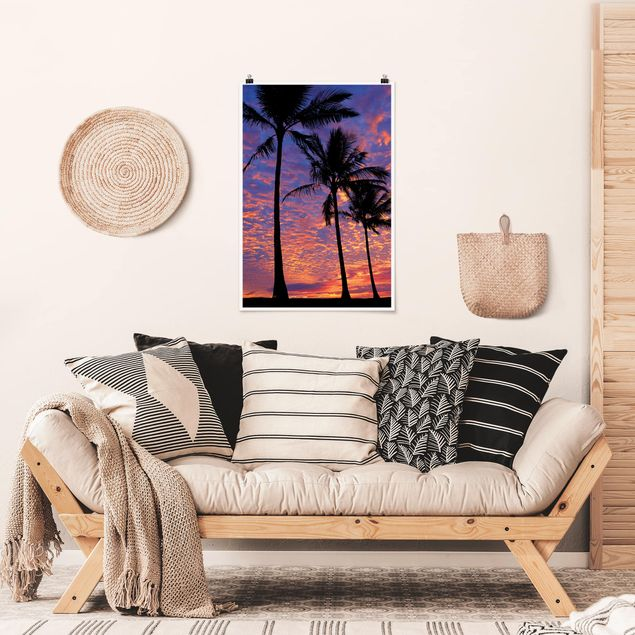 Poster - Palms - Verticale 3:2