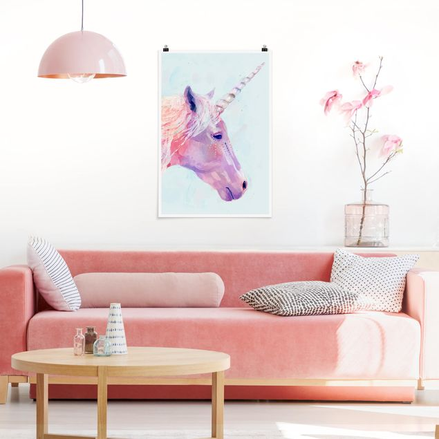 Poster - Mystic Unicorn I - Verticale 3:2