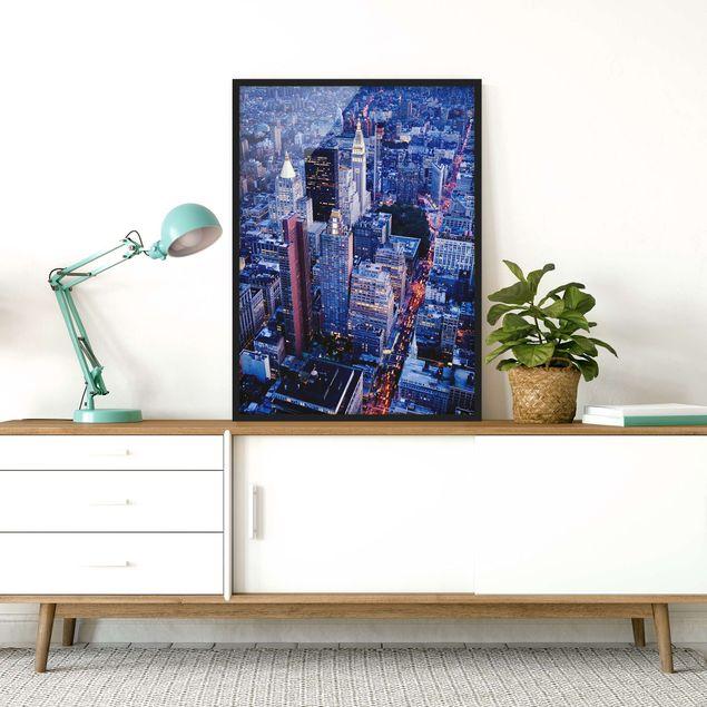 Poster con cornice - Big Apple - Verticale 4:3