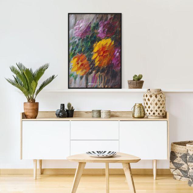 Poster con cornice - Alexej Von Jawlensky - Chrysanthemums In The Storm - Verticale 4:3