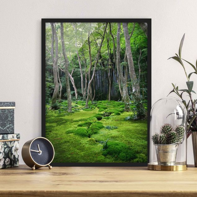 Poster con cornice - Growing Trees - Verticale 4:3