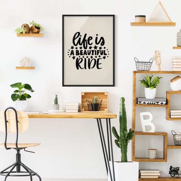 Poster con cornice - A Beautiful Ride - Verticale 4:3