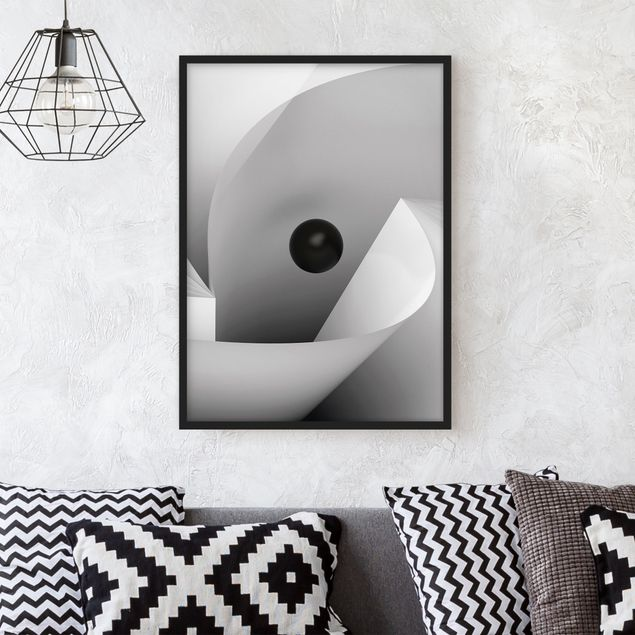 Poster con cornice - Big Eye - Verticale 4:3