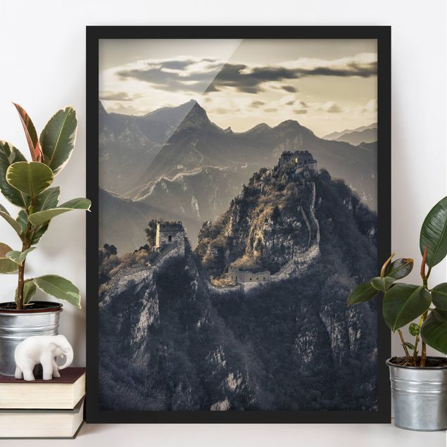 Poster con cornice - The Great Chinese Wall - Verticale 4:3