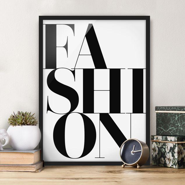 Poster con cornice - Fashion - Verticale 4:3