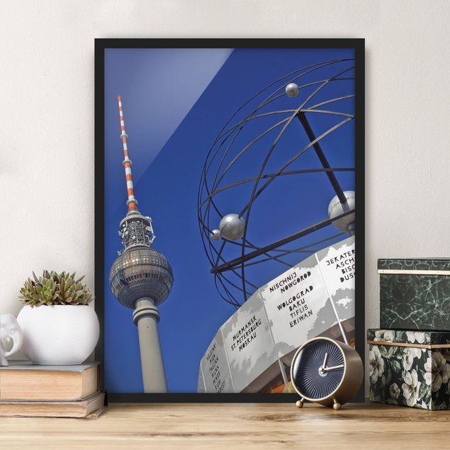 Poster con cornice - Berlin Alexanderplatz - Verticale 4:3